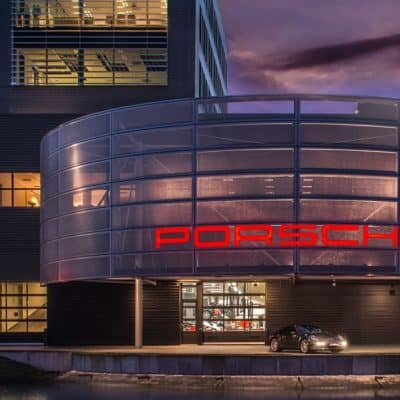 Porsche Amsterdam Showroom
